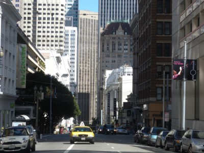 San Francisco looking downtown