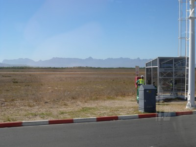 the airport of Cape Town