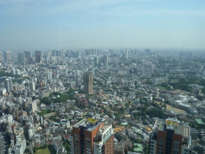 view from Mori Tower again