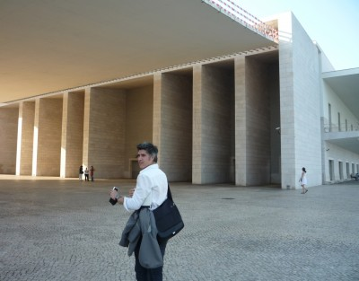 Tour of the Portuguese Pavilion organised by Ordem dos Arquitectos