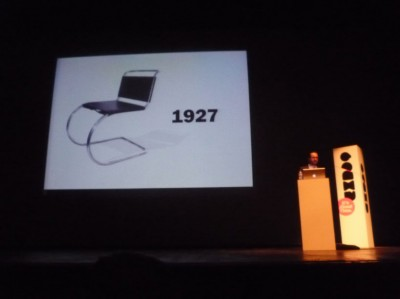 Konstantin Grcic presenting at Lisbon Conference Day 4