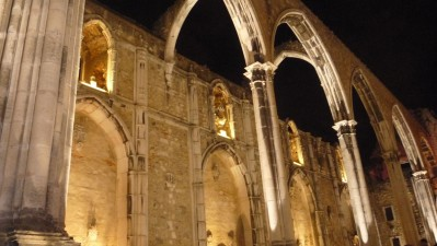 Convento do Carmo - the spectacular venue for the EXD'09 dinner with the Mayor of Lisbon