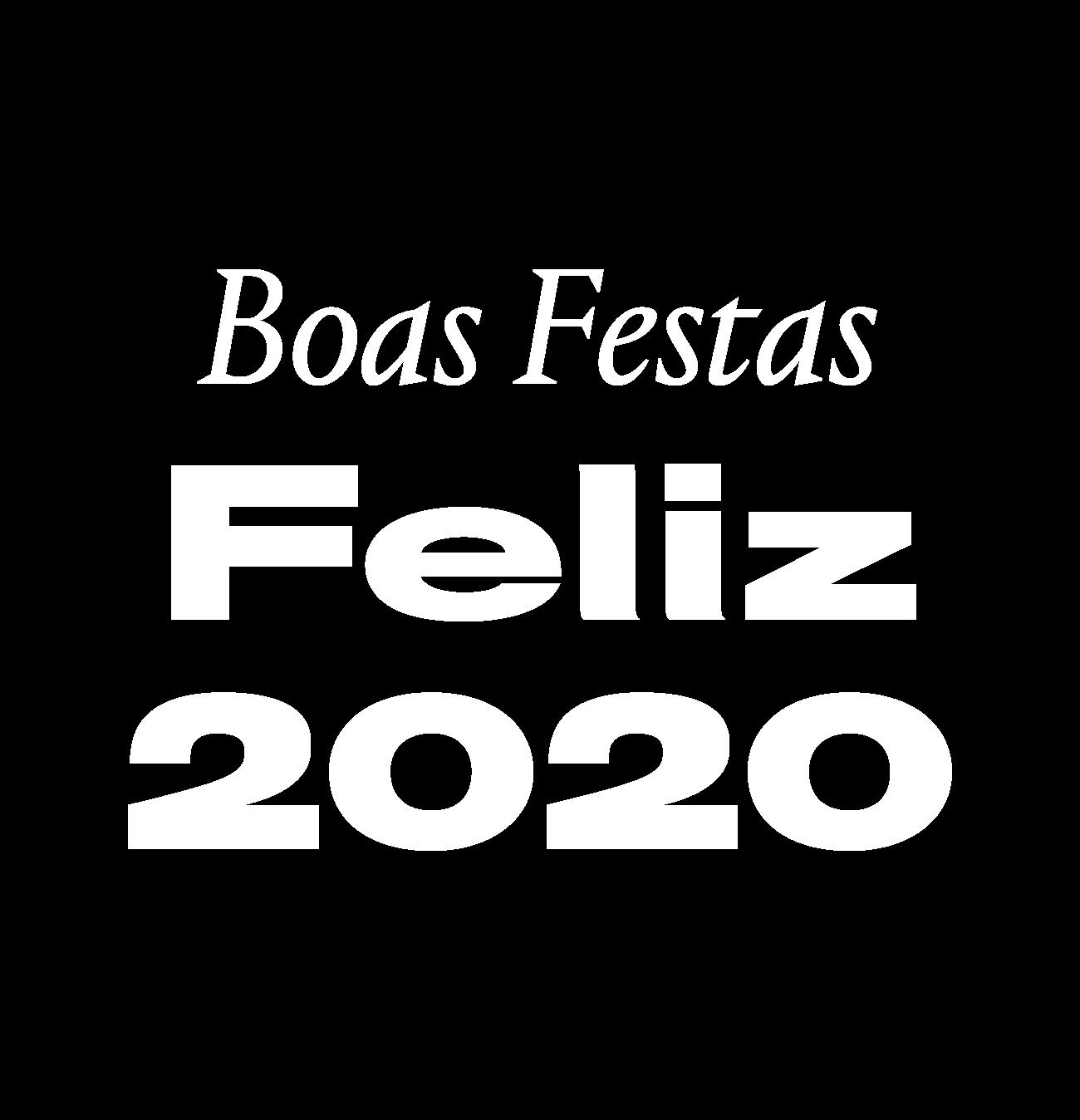Boas Festas — Feliz 2020